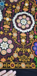 Machine dhupion Chain Stitch Embroidery Work