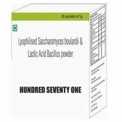 Lyophilised Saccharomyces Boulardii & Lactic Acid Bacillus Powder