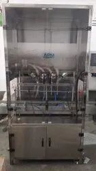 Automatic Servo Base Lubricant Oil Filling Machine