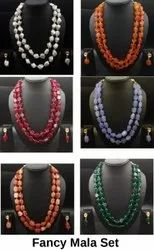 Green Bead Design Fashion Necklace Sets