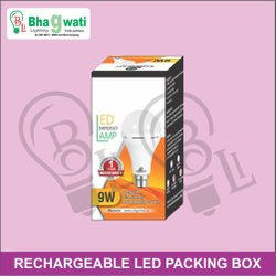 9W-12W Rechargeable Inverter LED Bulb Packaging Box