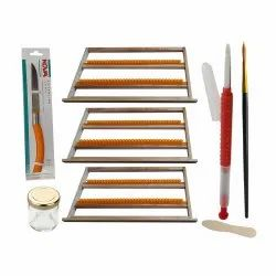 Royal Jelly Frame with Grafting Needle & Accessories