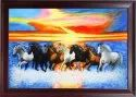 Horse Theme Canvas Painting
