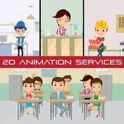 Digital 2D Animation Service, 12000