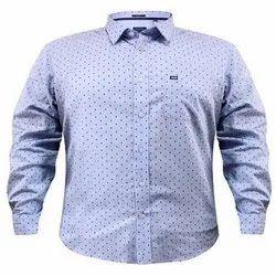 CANCUS Blue Full Sleeve Shirts