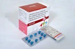 Vitamin K27 , Calcitrol and Calcium Carbonate