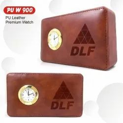 RE Rectangular Leather Watch, For Daily, Model Name/Number: 900-PU-Leather_Watch