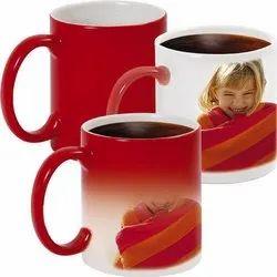 Photo Printed Magic Mug, Size: 11OZ