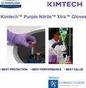 Kimtech Purple Nitrile- Xtra Exam Gloves-12 Inch, (50602- Medium & 50603- Large)