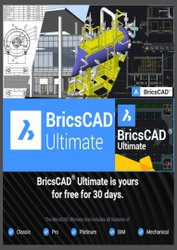 Bricscad Ultimate : All Bircscad Family In One Single Price - One Single License Software