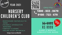 Nursery Children's Club(2.5 - 4yrs) In Bengaluru
