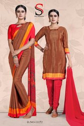 Ladies Silk Saree Dress Material