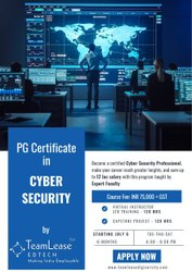6-8pm Post Graduate Certificate in Cyber Security, Teamlease Edtech