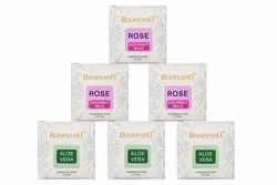 Roopenso Bar Aloevera & Rose Coconut Milk Soap, For Face And Body, Packaging Type: Box