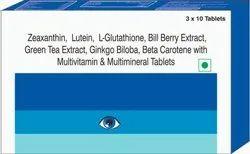 Zeaxanthin, Lutein, L- Multimineral Tablets