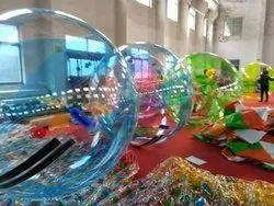 Transparent PVC Ball, Size: 6.5 Feet