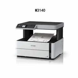 Black & White Laser Epson EcoTank M3140 Monochrome All-in-One Duplex InkTank Printer, 39 Ppm