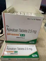 Apisern 2.5 (Apixaban Tablets 2.5 Mg)