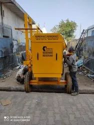 Concrete Mixing Machine With Lift
