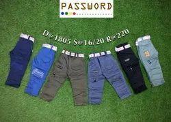 Kids Slim Fit Lycra Jeans