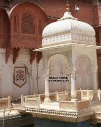 Marble Stone Outdoor Chatri