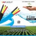 Submersible 3 Core Flate Cables 6.00sqmm
