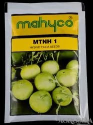 Green Hybrid Tinda - Mahyco / Mahy 1, For Agriculture, Packaging Type: Pouch