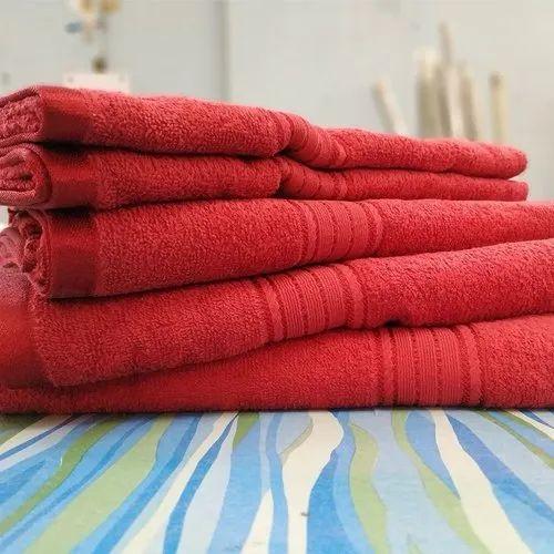 Plain Bath Towels From Delhi