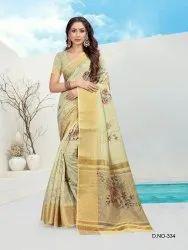 Ladies Fancy Printed Saree