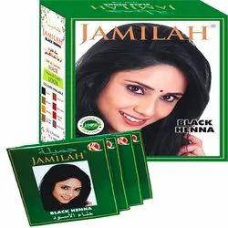 Jamilah Black Henna Hair Color, Box