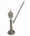 Silver Plated Antique Brass Hookah For Decoration, Use & Corporate Gift.