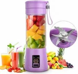 Stainless Steel USB Portable Juicer, Capacity: 400ml