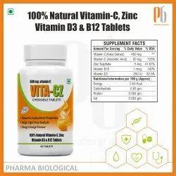 VITA-CZ Chewable Tablet, 500 Mg