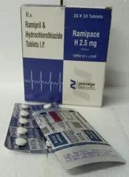 Ramipril and Hydrochlorothiazide Tablets IP