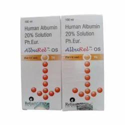 Human Albumin Ip 20 Solution