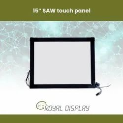 15 Inch SAW Touch Panel