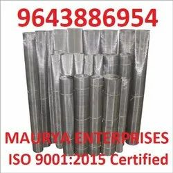 Stainless Steel Silver SS Wire Mesh, For Industrial, Size: 5 Feet