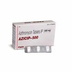 AZICIP-500 Azithromycin Tablets IP 500 mg