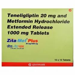 Teneligliptin And Metformin Hydrochloride Extended Release Tablets