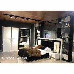 Queen Size Wooden Bed
