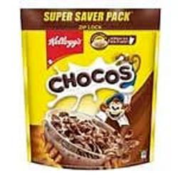 Chocolate Corn Kelloggs Chocos 1.2kg, For Breakfast, Flakes