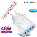 3amp 48 Watts Fast Charger For Android Oppo Samsung Iphone
