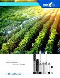 6 3HP AC Solar Submersible Pump With Controller