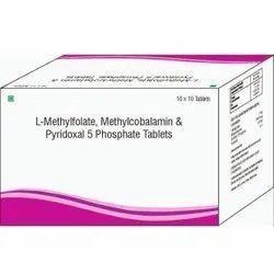 L-methylfolate, Methylcobalamin & Pyridxal 5 Phosphate Tablets