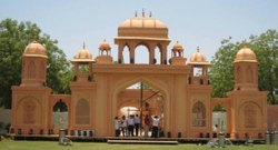 Fiber Palatial Gate, For Exterior Decorations