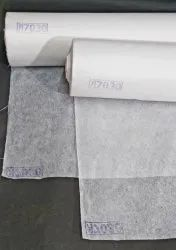 Polyster White Thermal Bonded Microdot Non Woven Interlining Fabric, PES