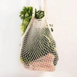 Organic Cotton Mesh Shopping Bag
