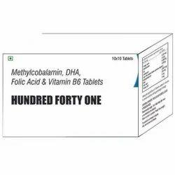 Methylcobalamin DHA Folic Acid & Vit B6 Tablets