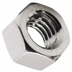 Stainless Steel Hexagonal SS Hex Nut, Size: 3 Inch