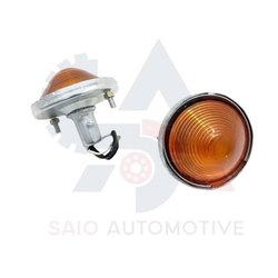 Turn Signal Amber Light Indicator Set For Willys MB Ford GPW CJ3D CJ-2A  Auto Spare Parts Jeep Body